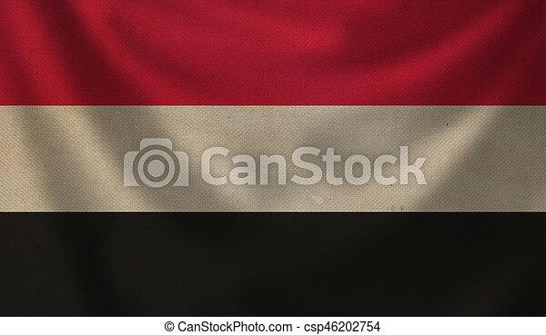 Flag of Yemen. - csp46202754