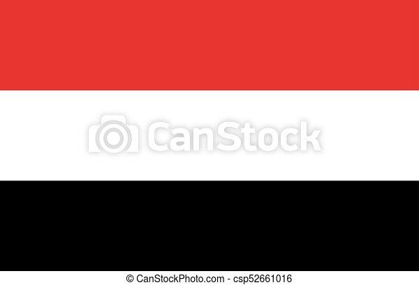 Flag of Yemen - csp52661016