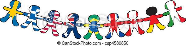 Flag Paper Dolls - csp4580850