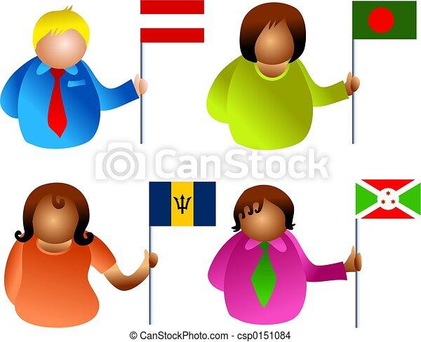flag people - csp0151084
