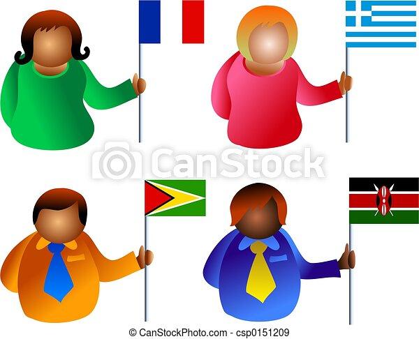 flag people - csp0151209