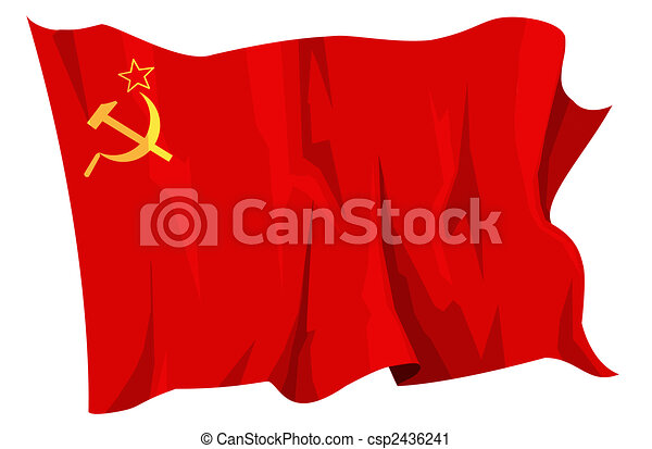 Flag series: Soviet Union - csp2436241
