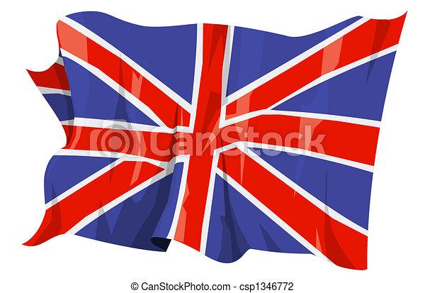 Flag series: United Kingdom - csp1346772