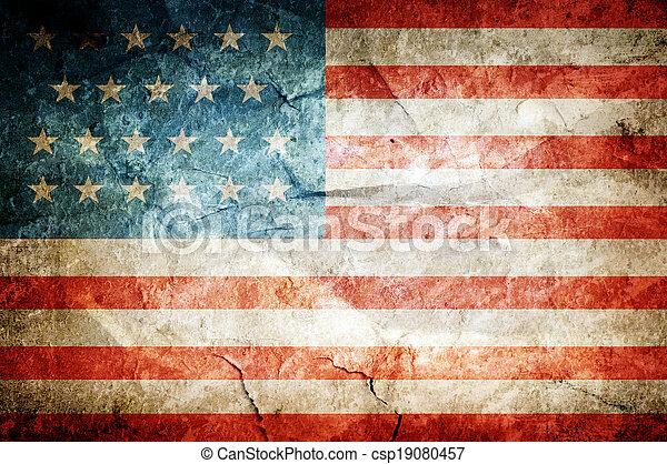 flag, united states - csp19080457
