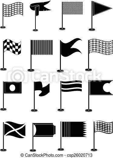 Flags icons set - csp26020713