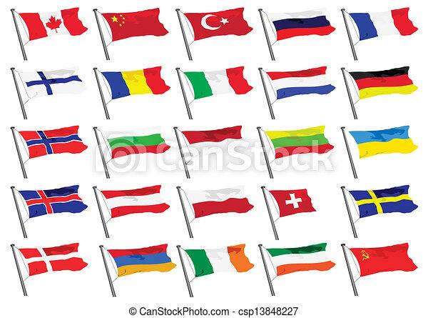 flags - csp13848227