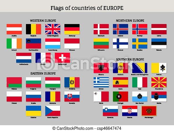 Flags., national, satz, europäische . Wohnung, bulgaria., satz ...