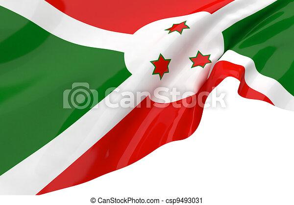 Flags of Burundi - csp9493031