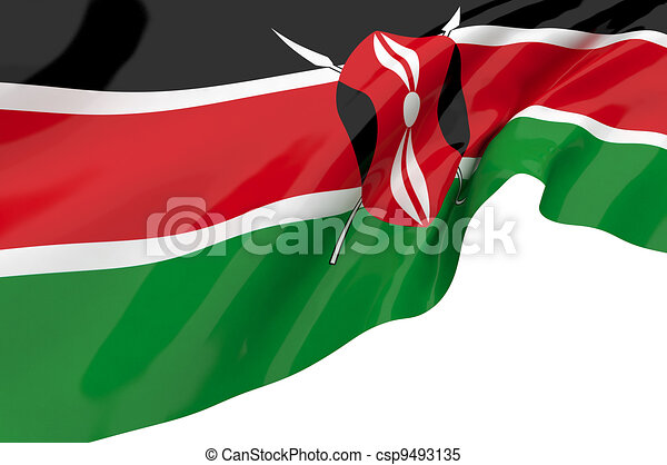 Flags of Kenya - csp9493135