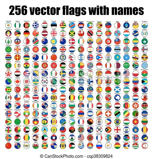 flags of the world - csp38309824