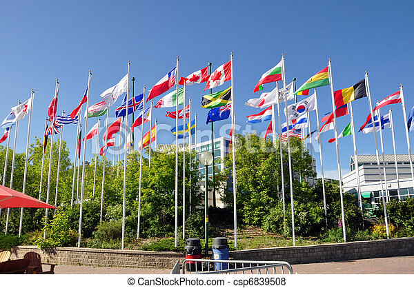 Flags of the world - csp6839508