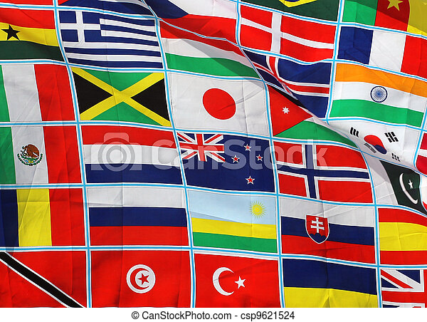 Flags of the world - csp9621524