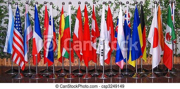 Flags - csp3249149