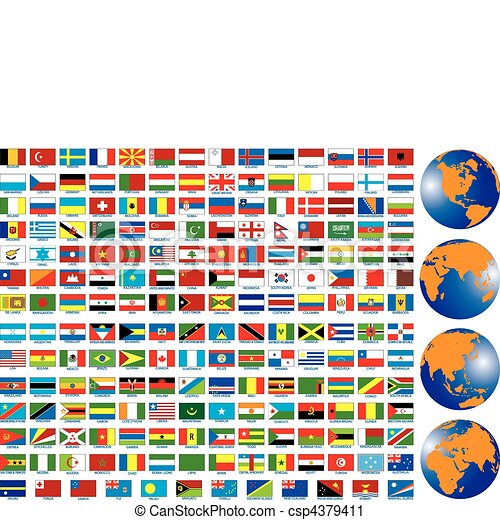 Flags - csp4379411