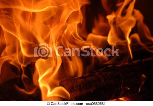 flame #5 - csp0580681