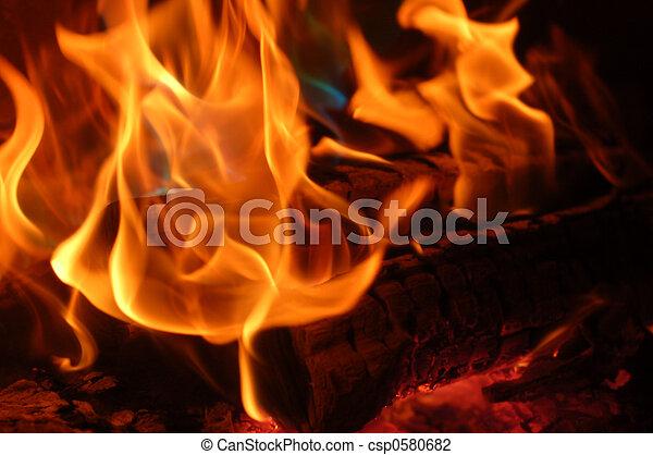 flame #5 - csp0580682