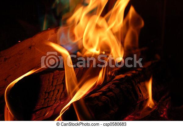 flame #5 - csp0580683