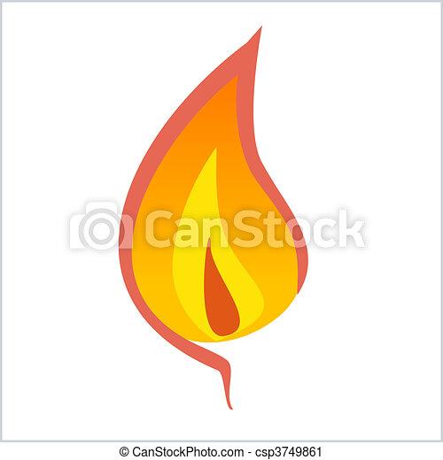 Flame - csp3749861