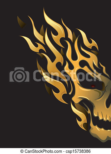 Flame Designs - csp15738386