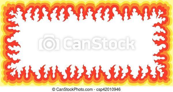 Flame Frame - Large - csp42010946