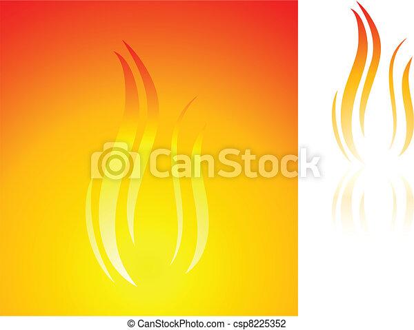 Flame. - csp8225352