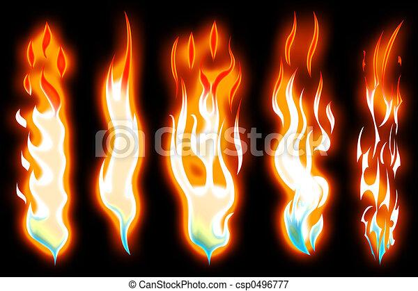 Flame - csp0496777