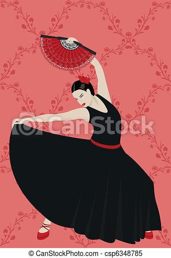 Flamenco - csp6348785