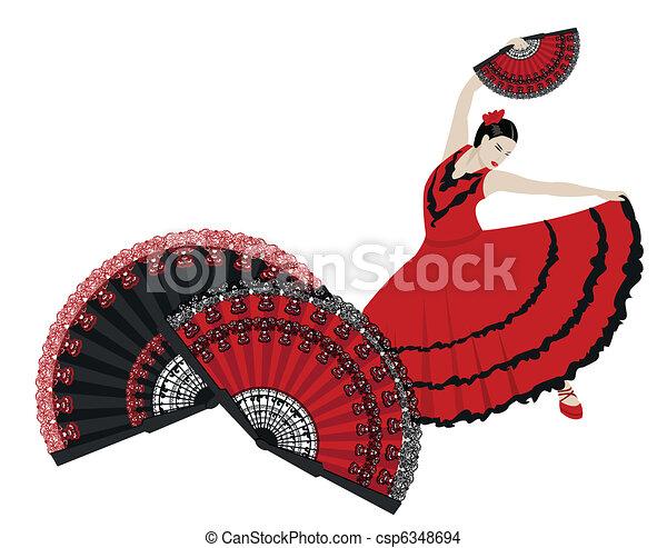 Flamenco - csp6348694