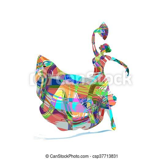 Flamenco - csp37713831