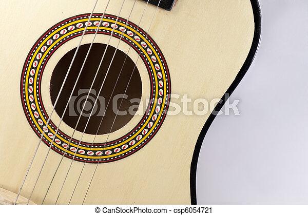 flamenco guitar - csp6054721