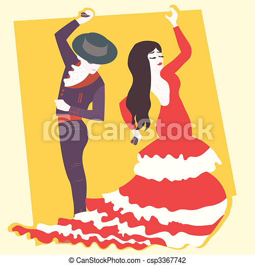 flamenco   - csp3367742
