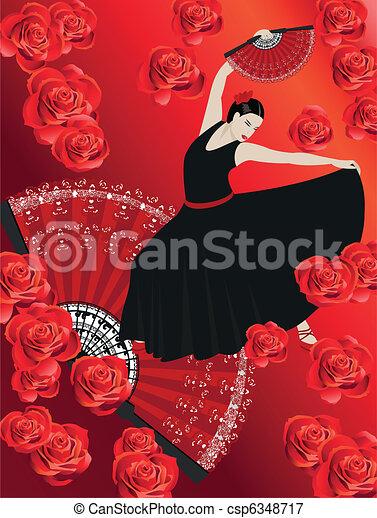 Flamenco - csp6348717
