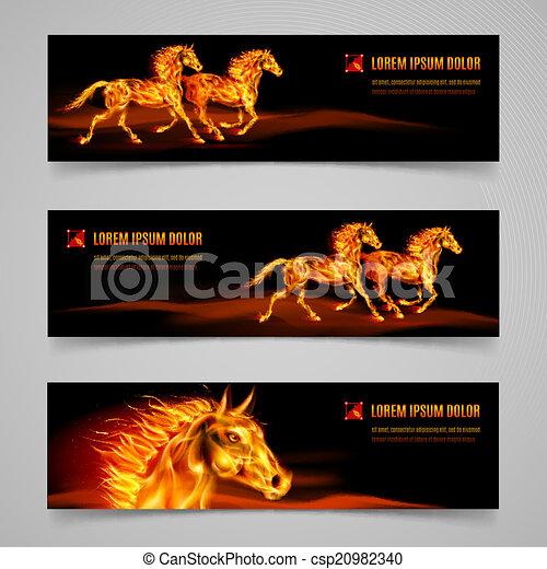Flaming speed - csp20982340