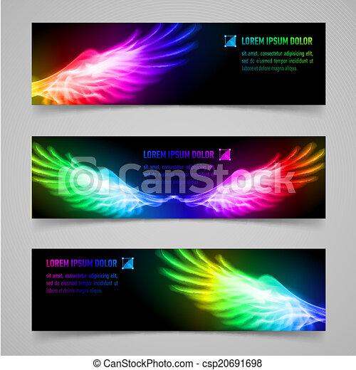 Flaming wings - csp20691698
