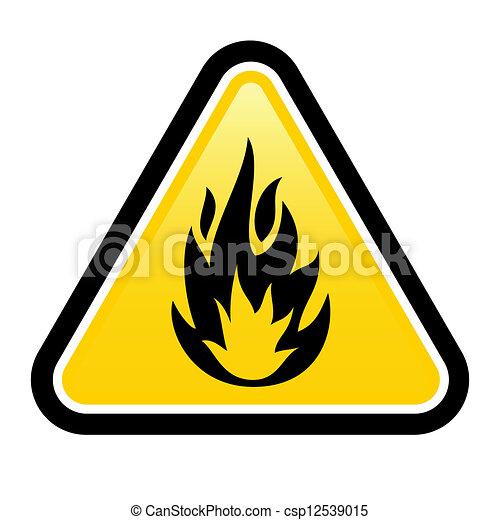 Flammable - csp12539015