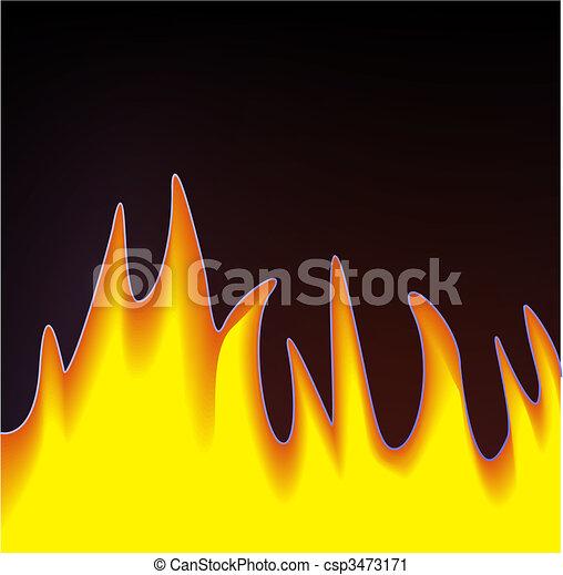 flamme - csp3473171