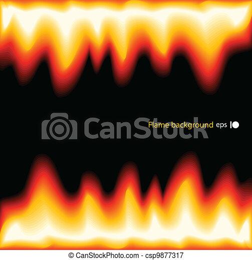flamme - csp9877317