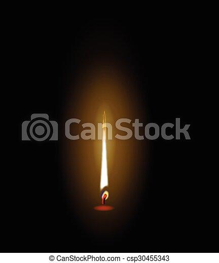 flamme - csp30455343