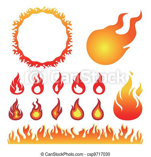 Flammen - csp9717030