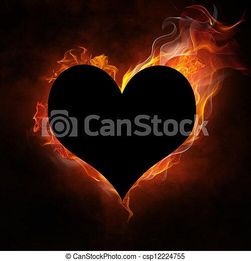 flamy symbol - csp12224755