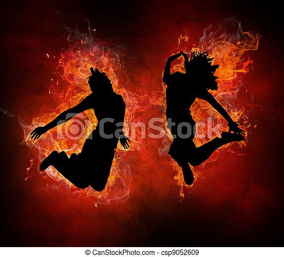 flamy, symbole - csp9052609