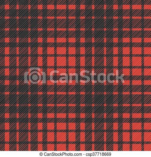 Flannel pattern seamless - csp37718669