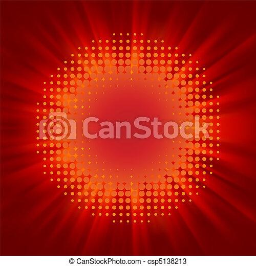 Flash element. EPS 8 - csp5138213