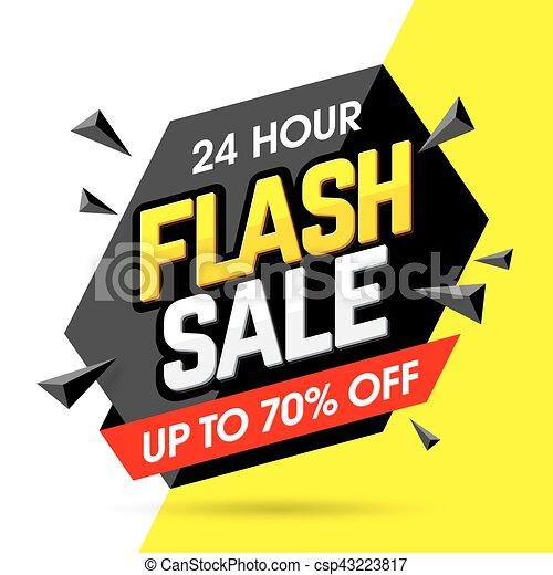 Flash Sale banner - csp43223817
