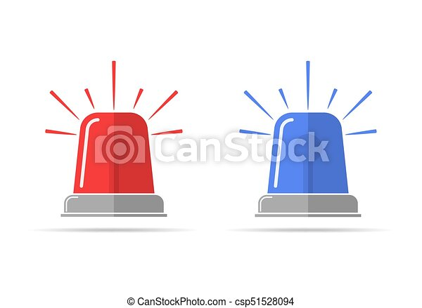 Flasher icons. Vector illustration - csp51528094