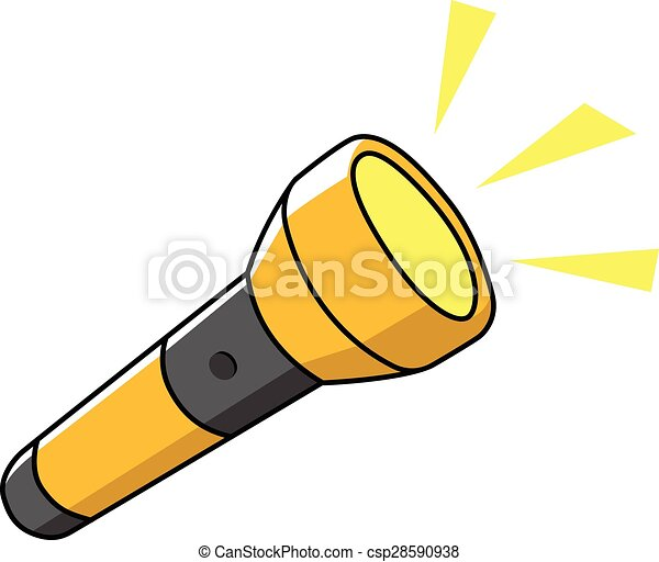 flashlight illustrations and clip art 9 978 flashlight royalty free rh canstockphoto com flashlight beam clip art flashlight beam clip art