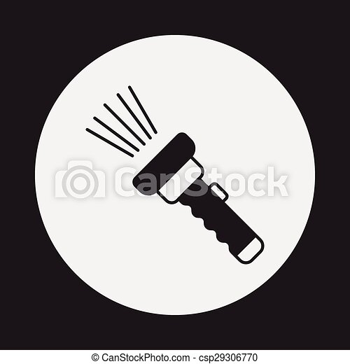 flashlight icon - csp29306770