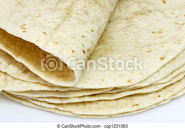 Flat bread - csp1231063