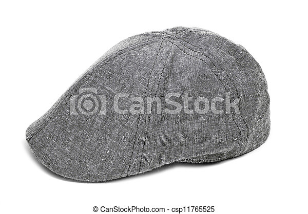 e20e18de40d A gray flat cap on a white background.