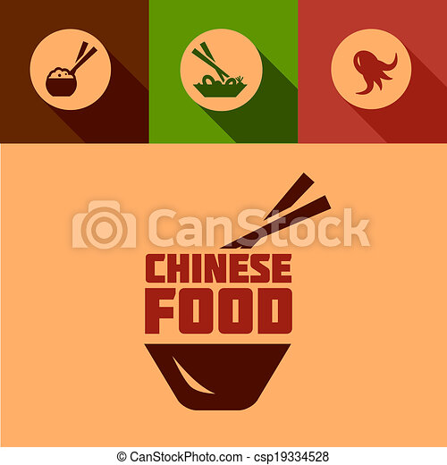 Flat Chinese Food Design Chinese Food Design Elements In Flat